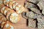 The Boreal Gourmet's Seed Crackers